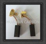 Balai de charbon de Hualian Dremel/balai de charbon japonais balai de charbon sans plomb et Individu-Débranchant de 7X11X17/18.5mm/Wholesale réglé