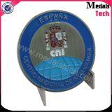 Monnaie de promotion avec émail doux avec logo Eagle 3D