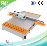플라스틱 금속 세라믹 문을%s UV 평상형 트레일러 인쇄 기계