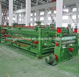 Tôle d'acier hydraulique coupée à la ligne machine de longueur de redresseur