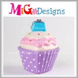 手印刷のケーキの整形硬貨ボックスと陶磁器卸売