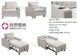 Única mobília Home escandinava do sofá da mobília do Recliner do sofá de Seater Sofabed