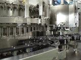 relleno y corona de la cerveza de la botella de cristal 5000-48000bph que capsulan la máquina monobloque
