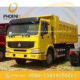 よい状態アフリカのための使用されたHOWO 10の車輪のダンプトラックのダンプカー6X4