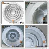 Difusor redondo da C.A. do registo de alumínio do teto