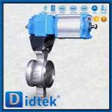 Тип шариковый клапан нержавеющей стали 304 v Didtek пневматический для рафинадного завода