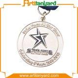 Médaille d'argent chaude de vente de qualité