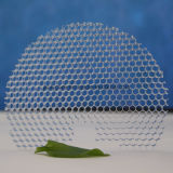 De halfronde Transparante Plastic Comités van de Honingraat