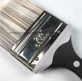 Qualité Peinture synthétique Filament effilé avec poignée en caoutchouc brosse en plastique