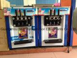 3つの味のソフトクリーム機械価格を塗るカラー