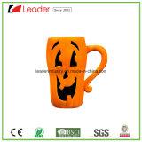 Tazza di ceramica di figura divertente della zucca per il regalo e la decorazione di Halloween