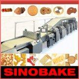Máquina de alimentos Biscuit Linha automática para Biscuit