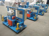 Machine active de rebobinage de double arbre de fil ou de câblage cuivre de faisceau