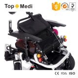 Topmedi Folding High Bearing Disable Electric Power Mobility Wheelchair