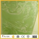 Marmo verde artificiale di Onxy per la parete