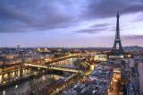 Luxuriöser Stadt Vibe Ölgemälde-Druck auf Segeltuch