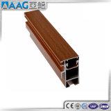 Section en aluminium des graines en bois/couleur en bois, surface en bois, fini du bois