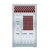 Aço inoxidável único porta Antrance de segurança