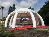 17m de diâmetro Dome Aranha insuflável transparentes tenda