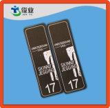 Denominando Tag do cair para Bootcut e calças de brim regulares da cintura