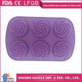 Vente en gros de moules en caoutchouc de silicone Baking Cupcake Baking Tray