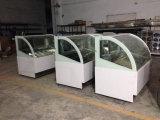 Portão de vidro deslizante Congelador de caixa congelado Vitrina refrigerada Showcase