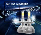 Ampoule à LED sans ventilateur à tournesol 4000lm Phare à LED de voiture H4