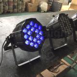 18X15W 5in1 RGBAW DJ DMX scène LED PAR lumière