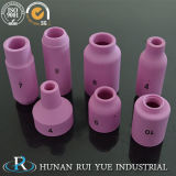 Ugello di ceramica dell'allumina di 95% per sabbiatura