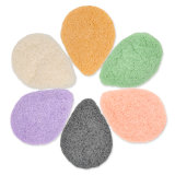 100% Natural Oval Shape Konjac Sponge
