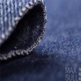 Tessuto cotone/delle lane per Autumu o cappotto di inverno in blu marino
