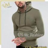 Großhandels-Kleidungs-Muskel-passender Pocket Pullovermens-Leerzeichen-Sport Hoodies