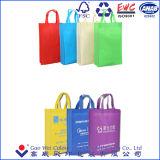 Fördernder kundenspezifischer Firmenzeichen-kaufender nichtgewebter Beutel für Supermarkt