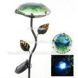 유리제 정원 빛 버섯 LED 옥외 태양 빛