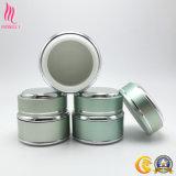Il cilindro di modo ha ciclato i vasi cosmetici vuoti del vaso della crema di cura di pelle