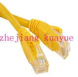 Cable de la corrección del OEM RJ45 CAT6 de la Marca de fábrica-Rex del conector