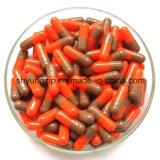 Taille de la capsule Hala 0 Rouge Jaune Couleur Gelatine Capsules vides