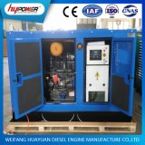 Weichai産業15kw自動1500rpm 3段階のディーゼルか力または電気か無声または開いた発電機