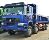 Sinotruk HOWO 8*4 아주 새로운 경쟁적인 화물 트럭 가격