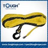 cuerda de la trenza de 1-20m m Dyneema UHMWPE para el torno eléctrico de la mano del torno