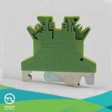 PE verde/giallo del blocchetto terminali Jut1-1.5 del morsetto della gabbia