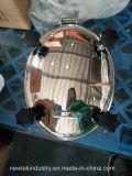 Silicone Polished ovale SS304 di Manway di pressione sanitaria