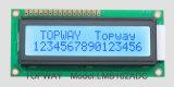 16X2 특성 LCD 디스플레이 alphanumeric 옥수수 속 유형 LCD 모듈 (LMB162A)