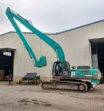 Crescimento longo super e braço do alcance para a máquina escavadora de Kobelco Sk350
