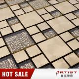 Configurations de mosaïque de papier peint, modèles de mosaïque d'or de Bisazza
