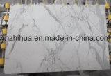 La dalle de marbre blanc italien Calacutta de marbre blanc poli