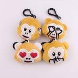 パックの小型Keychainの36の装飾の小型Emojiのプラシ天のおもちゃ