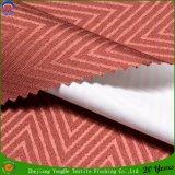 Tela impermeable tejida de la cortina del telar jacquar del apagón del franco del poliester