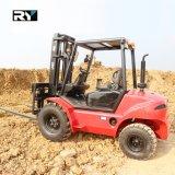 Raues Gelände-Dieselgabelstapler mit bestem Motor 5000kg
