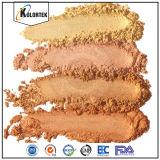 自然なミネラル雲母粉の顔料